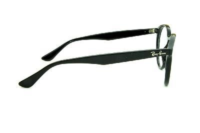 08f6c7f89bf4f ... Óculos de grau Ray-Ban RB2180 preto redondo armação acetato