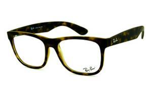 Óculos de Grau Quadrado   Coleção de óculos Ray-Ban   Marrom   Feminino a67ab38b01