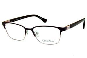5e6a96b3c1b49 Óculos Calvin Klein CK5431 Roxo e rosê estilo gatinho com detalhe nas hastes