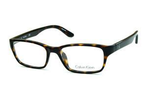 e6dbe69b88542 Óculos Calvin Klein CK5825 Demi tartaruga efeito onça com logo prata