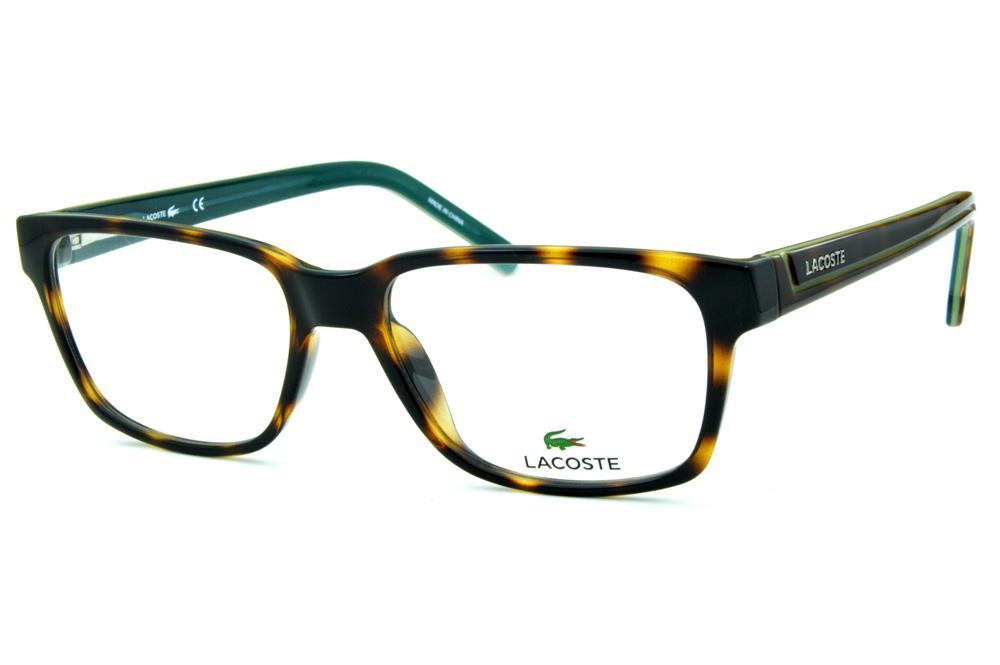a5838b144 Armação de óculos de grau Lacoste