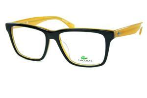 Óculos Quadrado Lente   Armação de óculos de grau Lacoste   Masculino    Preto 22065b0957