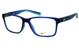 1bce3663e100b ... Cinza Fosco detalhe verde fluorescente Não disponível · Óculos Nike  7091 Live Free azul fosco com hastes azul degradê e logo verde água