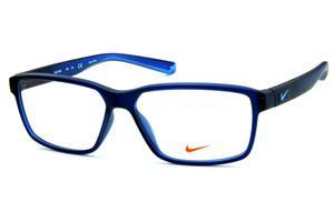 de3bea33abbf1 Óculos Nike 7092 Live Free azul marinho fosco com azul degradê nas hastes