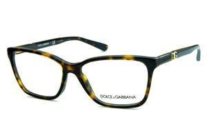 Óculos Dolce   Gabbana DG3153P tartaruga onça com logo de metal dourado 7dadc56a96