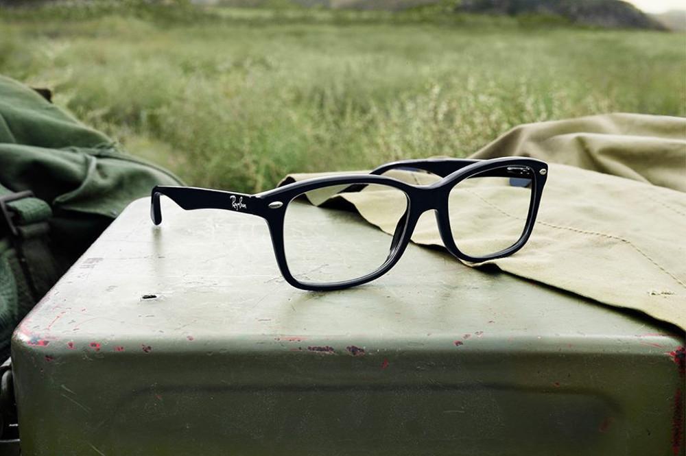Oculos Ray Ban Quadrado Preto   Louisiana Bucket Brigade c689da270b