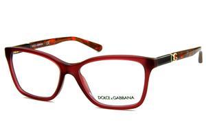 b1bbbae14b83c Óculos Dolce   Gabbana DG3153 Rosê com haste em cores mescladas e logo  dourado