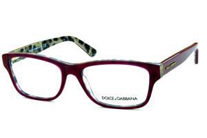 d5d3e8225e805 Óculos Dolce   Gabbana DG3208 Bordô com onça na parte interna