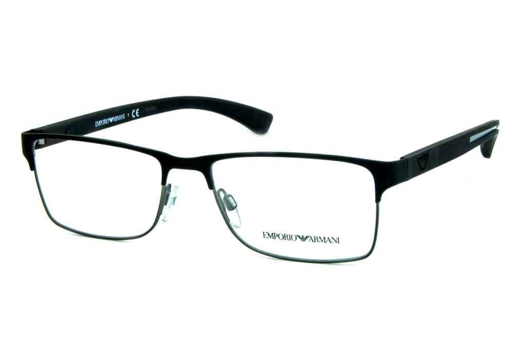 061b76b30f45e Modelos de óculos Emporio Armani   Óculos Quadrado Retangular