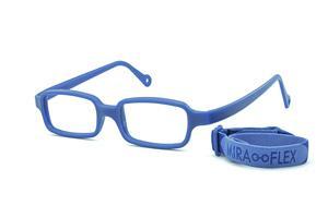 Óculos Miraflex Siliconado INQUEBRÁVEL New Baby 2 42 14 Azul (de 3 a 7 a1b8bde625