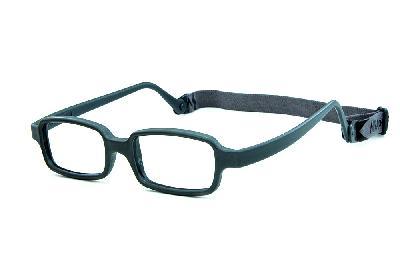 6aca8a4f5f3f0 ... Óculos Miraflex Siliconado INQUEBRÁVEL New Baby 3 45 17 Cinza (de 6 a  10 ...