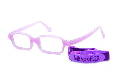 14942f3e8 ... Óculos Miraflex Siliconado INQUEBRÁVEL New Baby 2 42/14 Lilas (de 3 a 7  ...