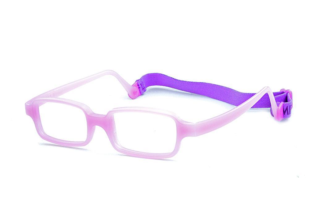 41fc2e0e3 Óculos Miraflex Siliconado INQUEBRÁVEL New Baby 2 42/14 Lilas (de 3 a 7  anos)