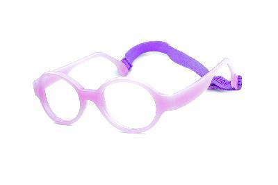 0e32f35c1 ... Óculos Infantil Miraflex Lilás em silicone INQUEBRÁVEL Baby Lux 2 40/14  (de 5 ...