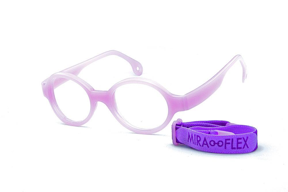 75b020352d1b2 Óculos Infantil Miraflex Lilás em silicone INQUEBRÁVEL Baby Lux 2 40 14 (de  5