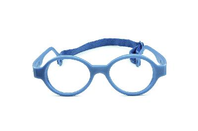 fc3c976fa ... Óculos Infantil Miraflex em silicone Baby Lux 2 40/14 Azul (de 5 a ...