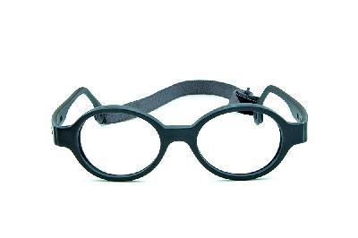 59d527fde ... Óculos Infantil Miraflex Cinza em silicone Baby Lux 2 40/14 Cinza (de 5  ...