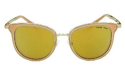 0d28e517955 ... Óculos de Sol Michael Kors MK1010 Adrianna 1 Dourado com as lentes  espelhadas rosê ...