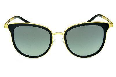 590d1ee14d071 ... Óculos de Sol Michael Kors MK1010 Adrianna 1 Metal dourado e acetato  preto ...