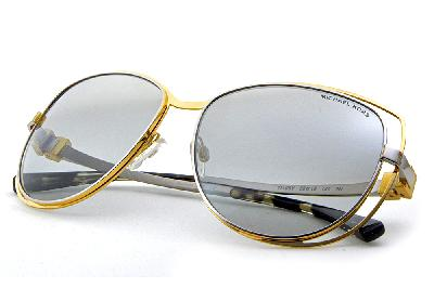 ... Óculos de Sol Michael Kors MK1013 Audrina1 Metal dourado e prata com  espelho prata suave ... f27421a070