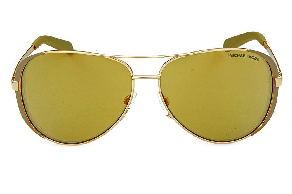 013c05d403a59 Óculos de Sol Michael Kors MK5004 Bronze lentes espelhadas rosê