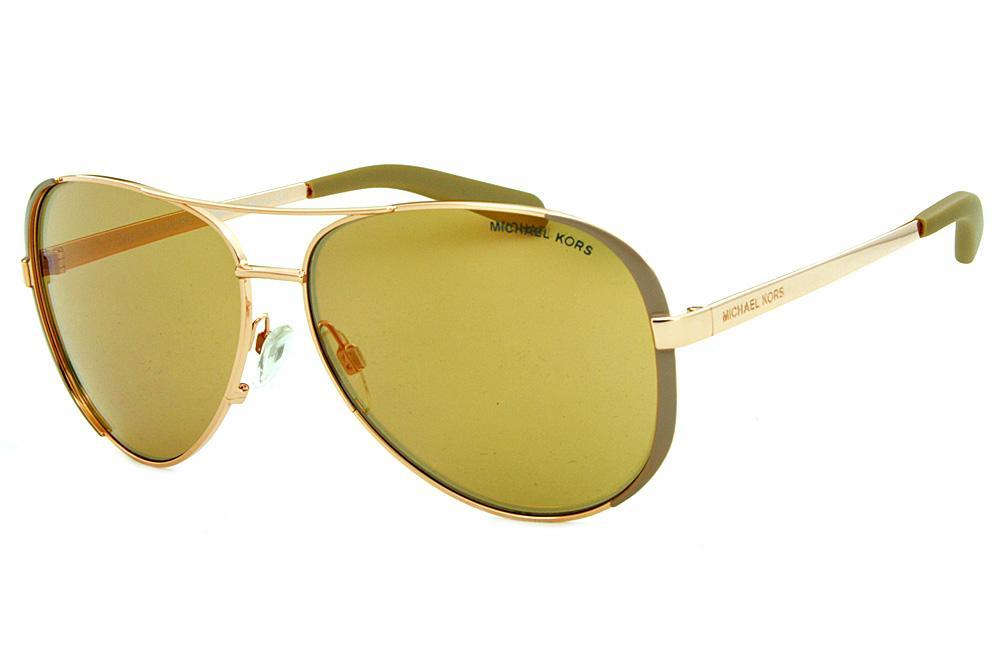 be2f386865eac Óculos de Sol Michael Kors MK5004 Chelsea Bronze com lentes espelhadas rosê