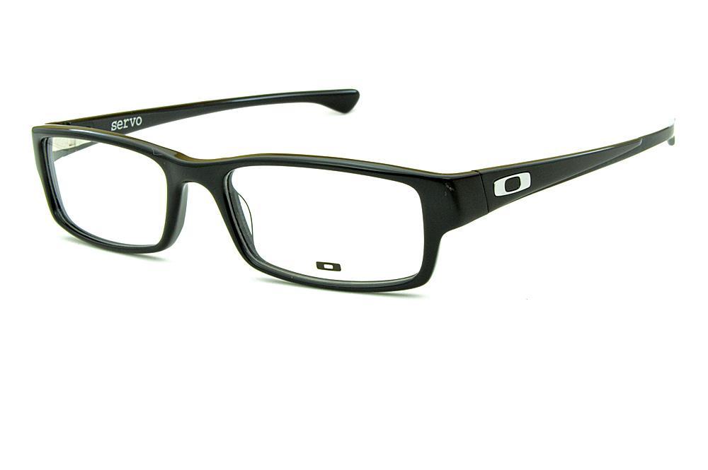 Óculos Oakley OX1066 Servo Acetato preto logo metal f1392c2b00