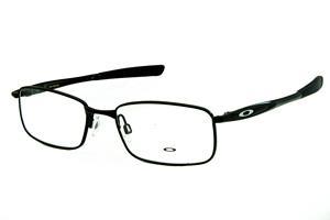 aa98171d6 Óculos Oakley OX3166 Polished Black metal preto com ponteiras emborrachadas