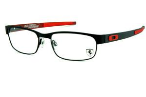 Óculos Oakley OX5079 Carbon plate Black   Ferrari Red metal preto fosco -  EDIÇÃO FERRARI ed7f277295