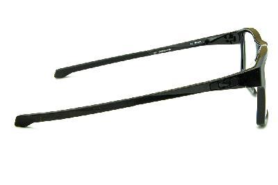 4b85b609a ... Óculos Oakley OX8040 Chamfer 2.0 Acetato Preto com ponteiras  emborrachadas ...