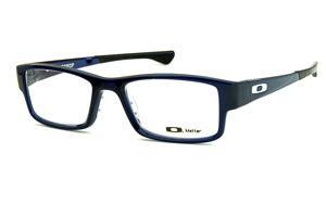 8da77a418 Óculos Oakley OX8046 Airdrop Blue Ice acetato azul com ponteiras  emborrachadas e logo branco