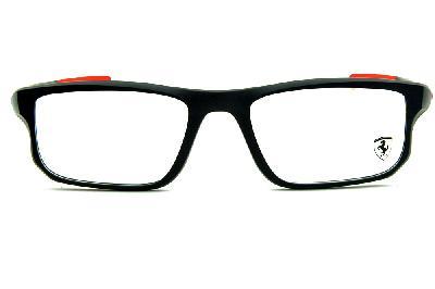 ... Óculos Oakley OX8049 Voltage Satin Black 55 acetato preto fosco Edição  Ferrari ... c4a2db8a28