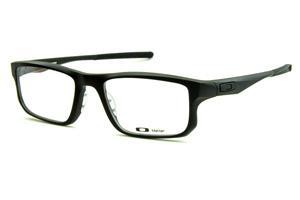 c7cca06ac00c0 Óculos Oakley OX8049 Voltage Satin Black acetato preto fosco com ponteiras  emborrachadas