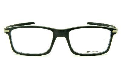 acddc33a8bc3e ... Óculos Oakley OX8092 Pitchman Carbon Preto fosco com hastes em fibra de  carbono ...