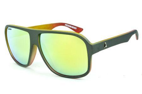 bb20e0f1fce8c Óculos Absurda Calixto chumbo fosco com lente espelhada