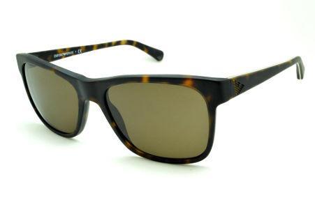18799b91f Óculos Emporio Armani EA4002 de Sol tartaruga demi efeito onça fosco
