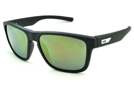 4a31c25757c3f Óculos HB H-BOMB preto fosco e lente espelhada Edição Especial Miguel Pupo