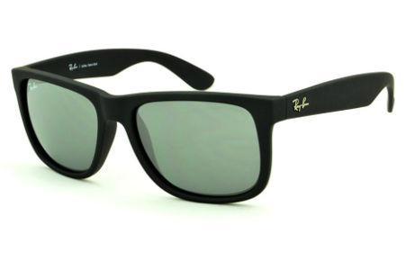 2eaedd474 Óculos Rayban Justin | Óculos Masculino | Óculos de Sol | Preto