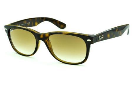 5763edc8995 Óculos Ray-Ban New Wayfarer RB2132 efeito onça demi tartaruga com lente  degradê
