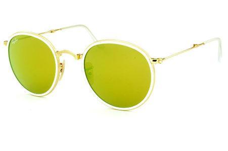 4c8baba84f5cc Óculos Redondo Lente   Óculos Branco   Marfim