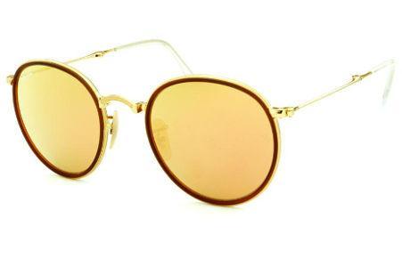 Coleção de Óculos Redondo   Dourado   Armação Metal Monel   Óculos de Sol 1c217d45de