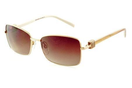 672a7f5f487f5 Ana Hickmann   Coleção de Óculos Quadrado Retangular   Óculos de Sol    Dourado