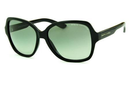 172711740a8 Óculos de Sol Armani Exchange AX4029S preto com lente cinza degradê e  emblema prata