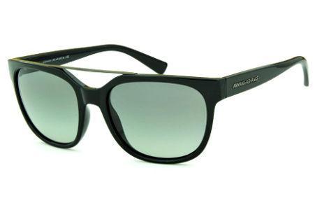 7616fc48dc2a8 Emporio Armani   Modelos de Óculos de Sol   Preto   Armani Exchange