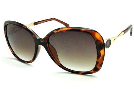 8a6824a231084 Óculos de Sol Bulget cor demi tartaruga efeito onça e detalhe dourado
