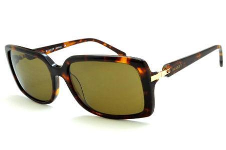77a58acac8cab Óculos de Sol Bulget cor demi tartaruga efeito onça e detalhe dourado