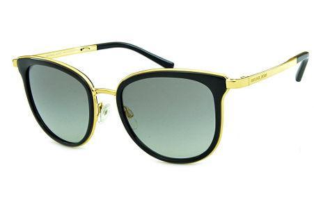 f2c040955e9 Óculos de Sol Michael Kors MK1010 Adrianna 1 Metal dourado e acetato preto