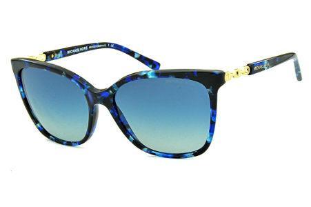 c5ba439f7ec10 Óculos de Sol Michael Kors MK6029 Sabina 2 Azul efeito tartaruga com detalhe  em metal dourado