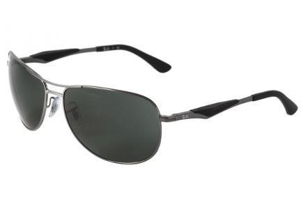 Óculos Quadrado Lente   Óculos na cor Grafite Cinza Prata   Ray-Ban    Superior a R 500,00 9c7840e6b4