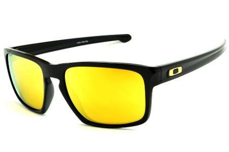 033c44d117b3a Óculos de sol Oakley OO9262L Sliver preto e lente amarela